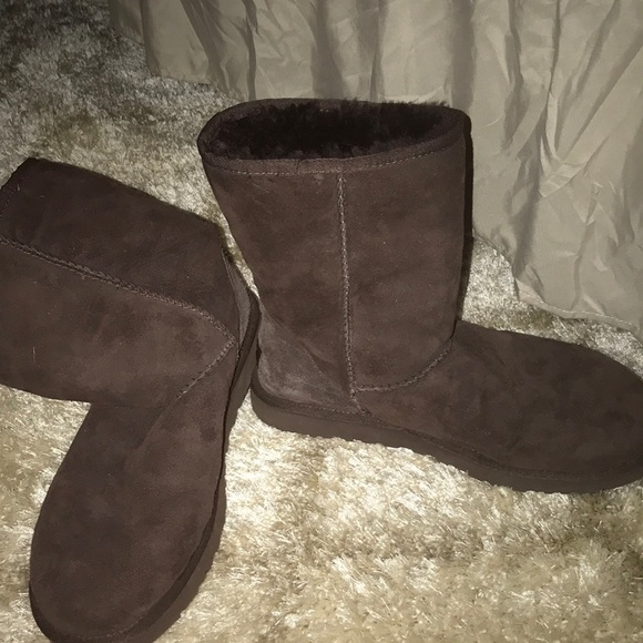 36d9c7a5cd7 Chocolate Ugg Classic Short Boots